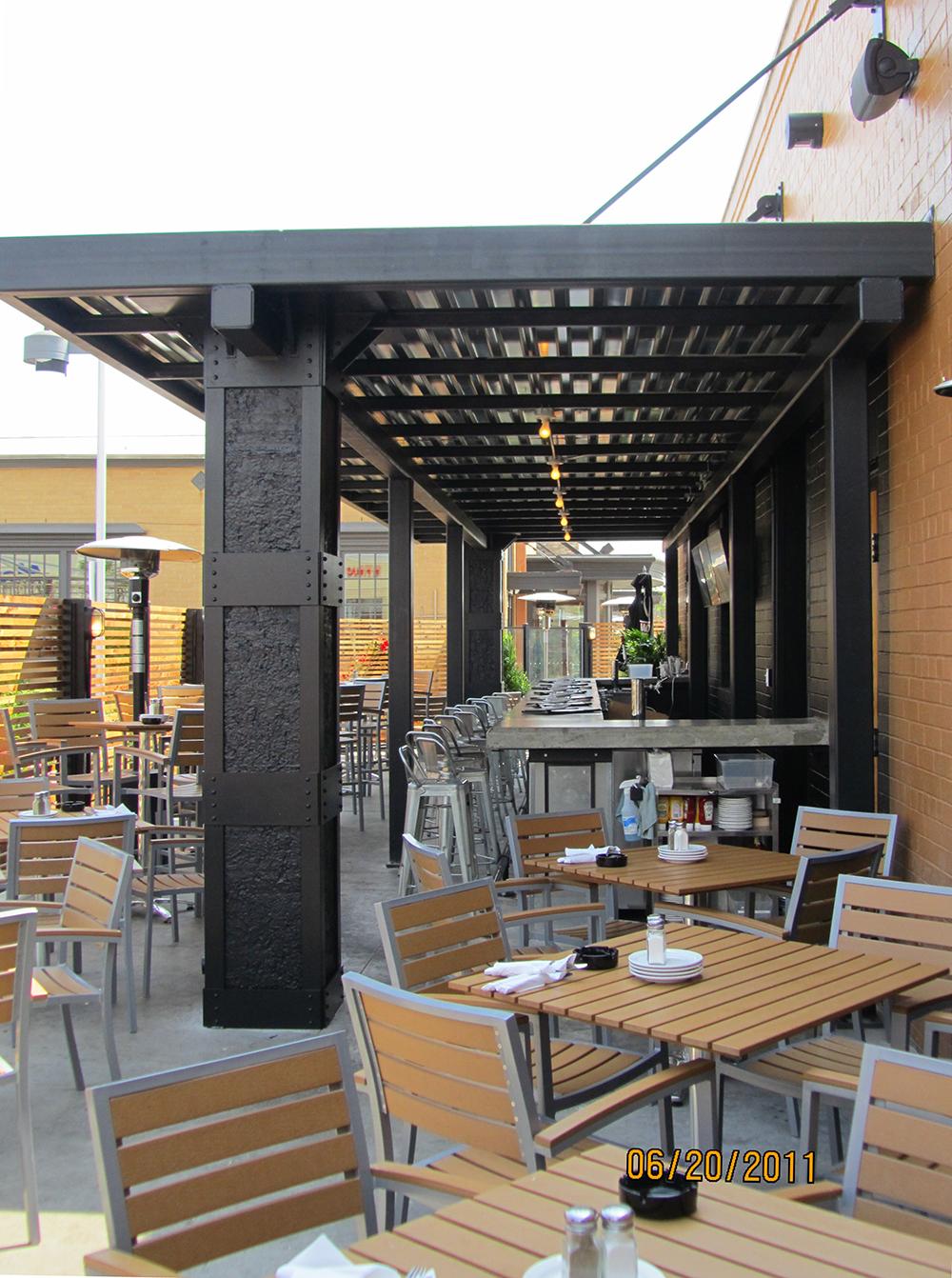 Creative build category patios fencing and pergolas - Bar canopy designs ...